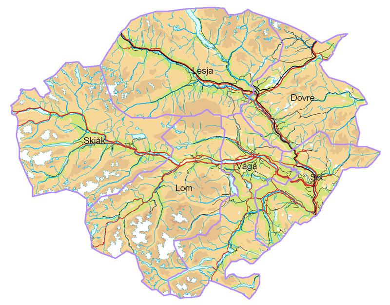 sel i gudbrandsdalen kart Nord Gudbrandsdal Næringsforening | Home sel i gudbrandsdalen kart